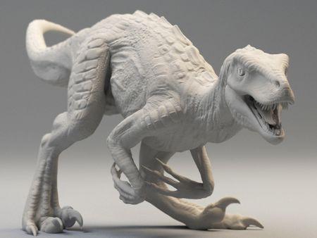 raptors sculpts
