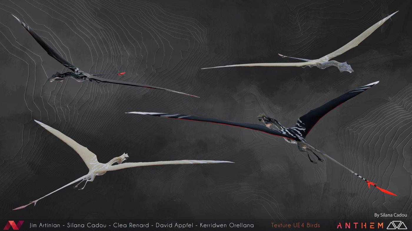 Birds Ue4 Silana