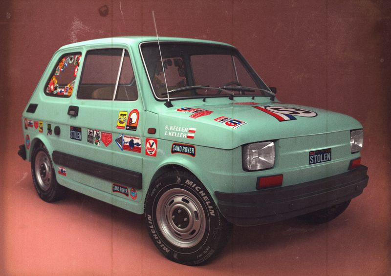 Fiat 126 - High Poly Model