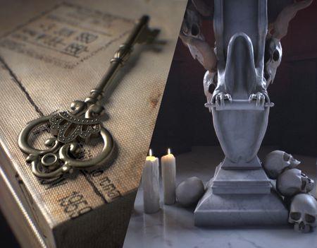 Vintage Key and Dark Alter