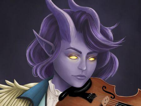 Pyra Hellstalker Portrait