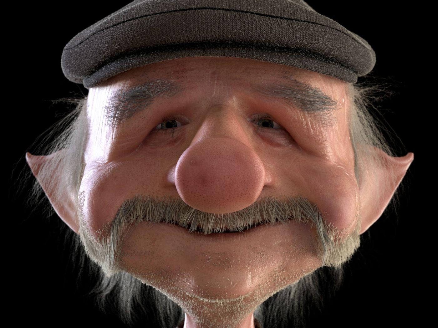 """""""Oscar"""" The Happy Old Goblin"""