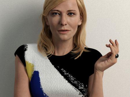Cate Blanchett Portrait