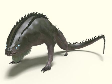 lizzard monster