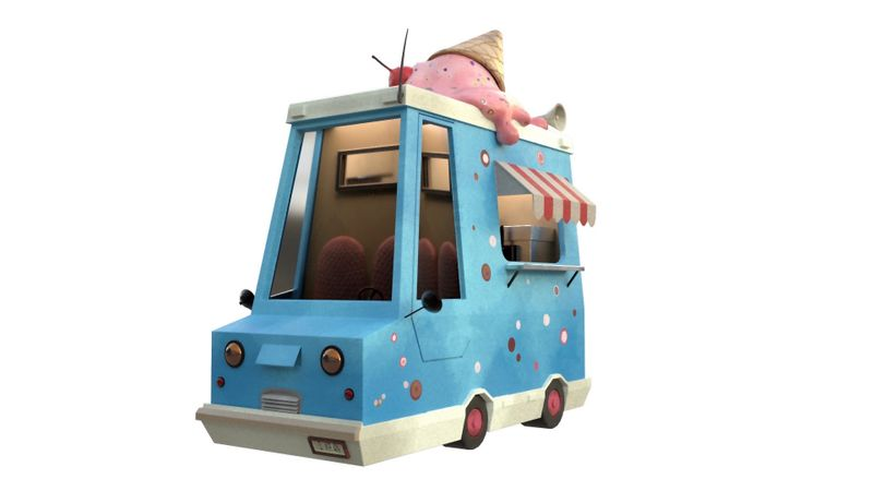 Ice-Cream Van (Concept by Pascal Andersson)