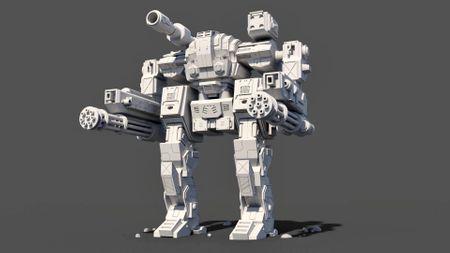 Mech Robot (Concept by Matt Olson)