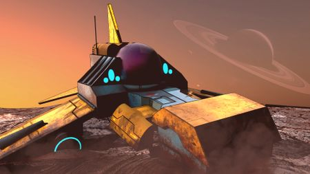 Spaceship (Concept by Nar Genc)