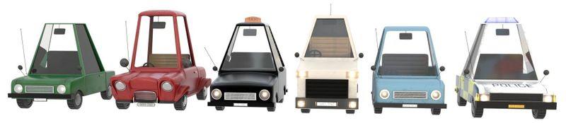 Stylised Cars