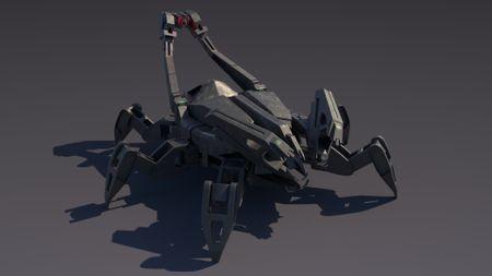Sectadroid (Concept by Antonio Dell-Aquila)