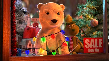 Christmas Toy Shop Window