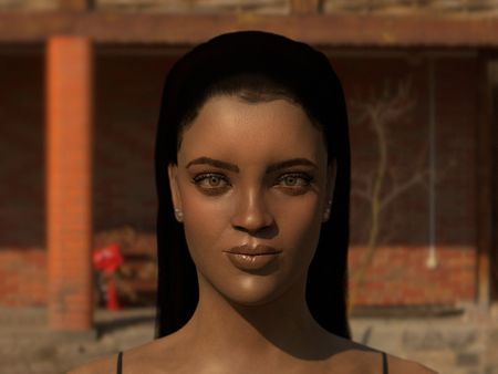 Rihanna -  Likeness Sculpt
