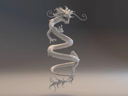 Chinese Dragon Sculpt