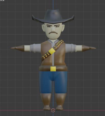 Lowpoly Cowboy