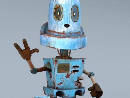 """steam punk robot  """"gordon"""""""