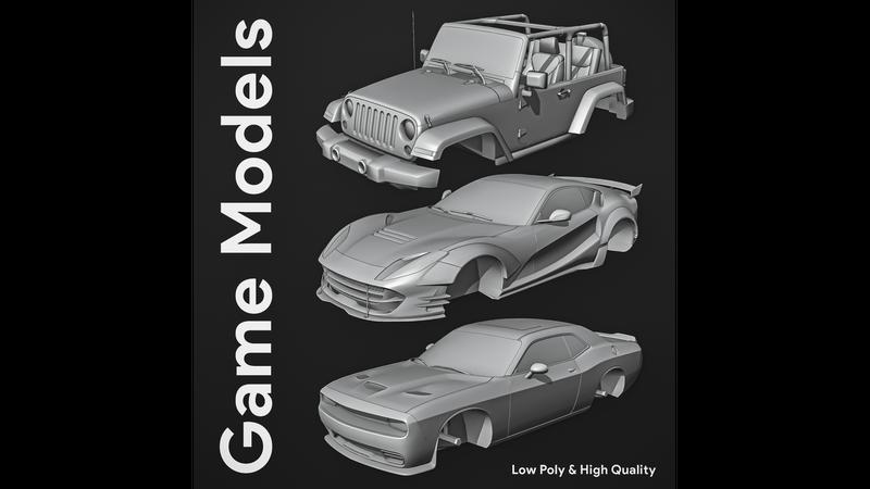 Car Game Models
