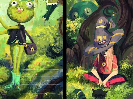 2 illustrations