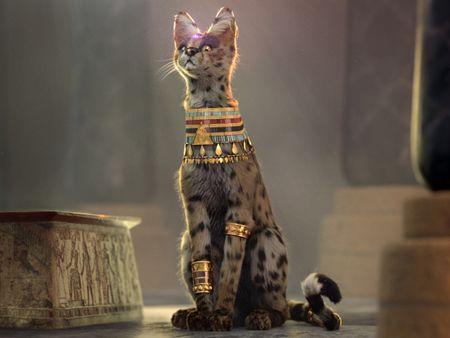 Pharaoh's pet.