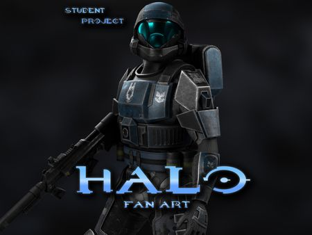 Hope - Halo Themed Senior Project
