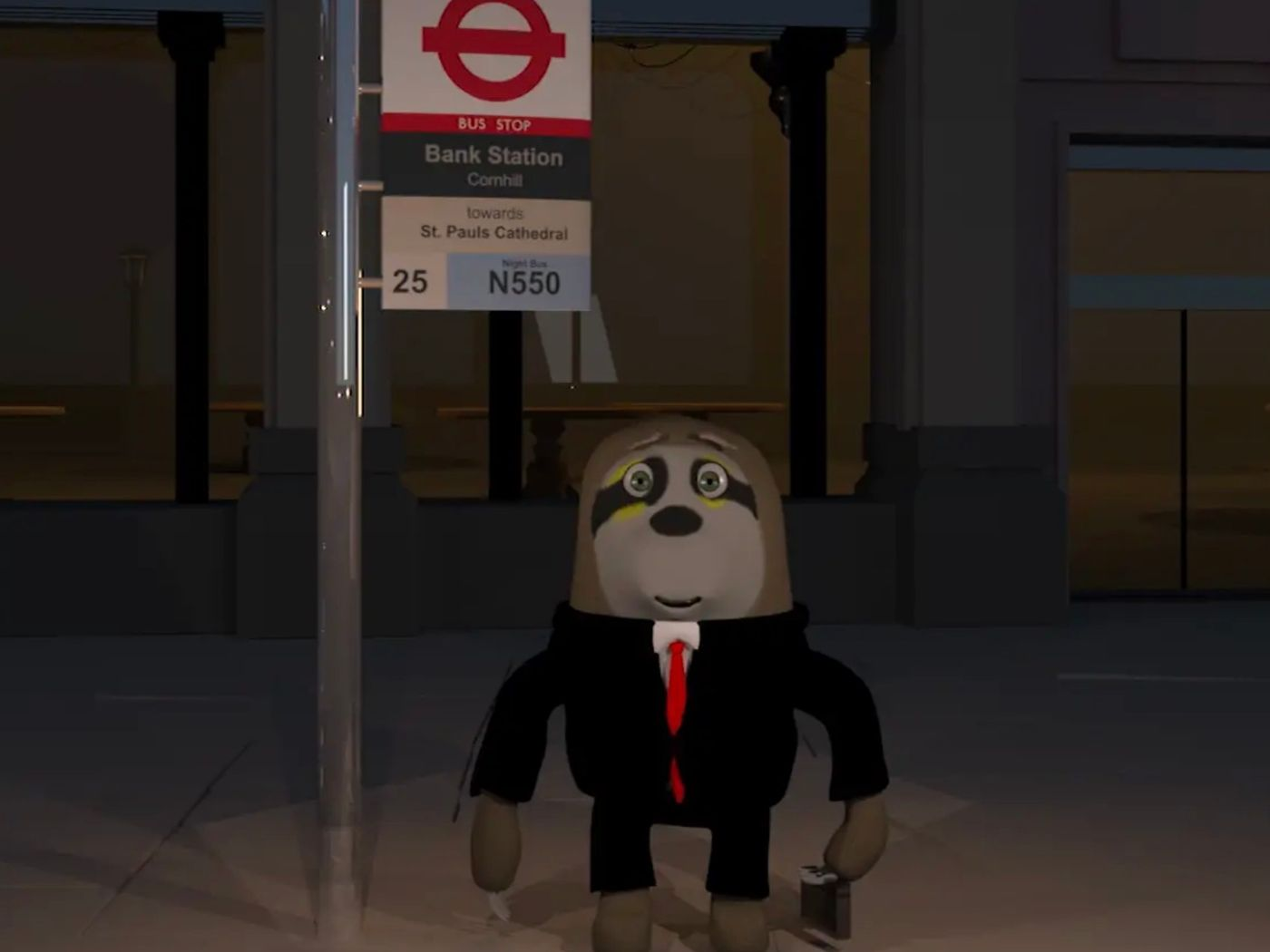 The Misfortunes of a Working Class Sloth