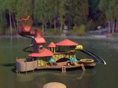 SeaMonster Villa Ideation #1