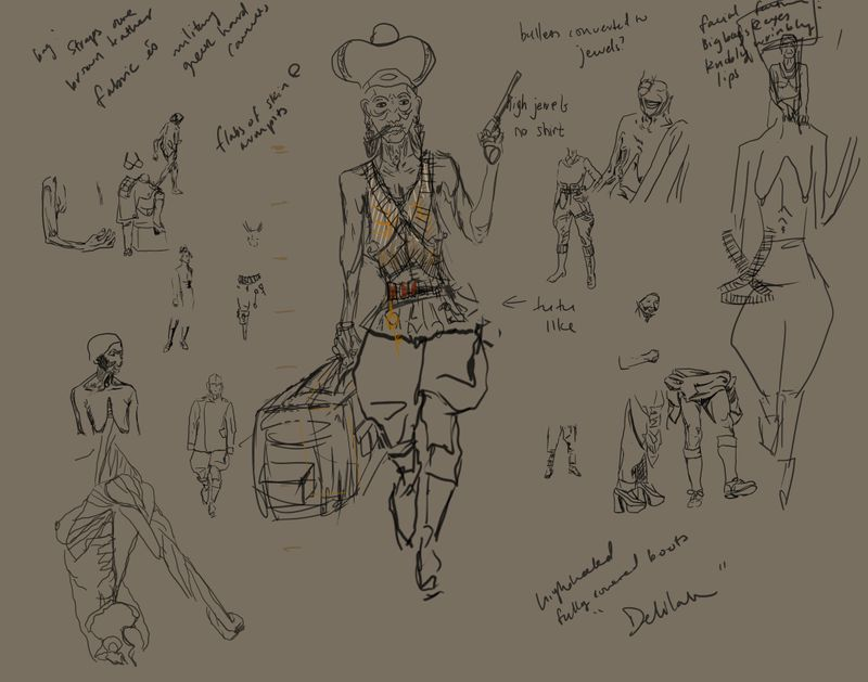 Delilah - Game Character Design