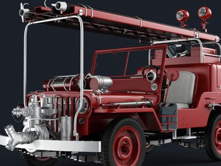 Jeep Fire Brigade