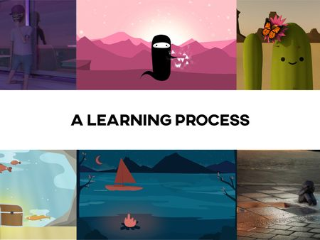 A learning process
