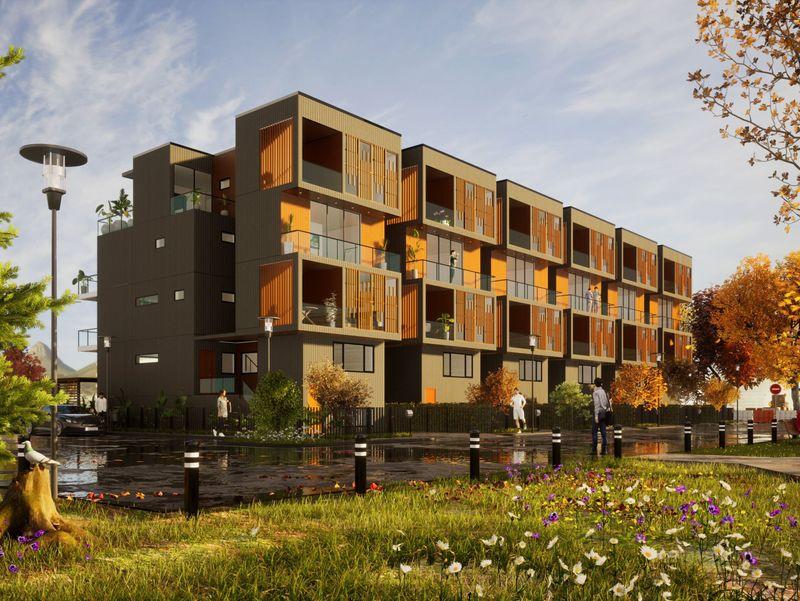 Vertical Housing
