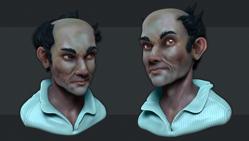 Zbrush Sketches #2