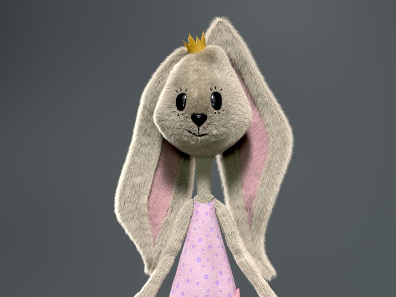 Rabit soft toy