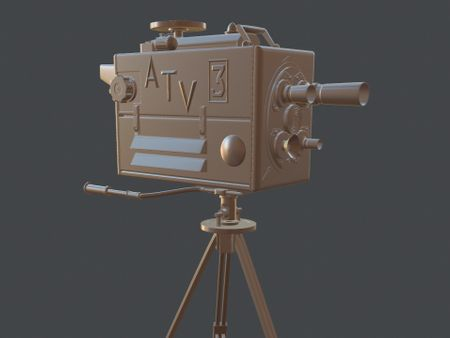 1960's Turret Film Camera