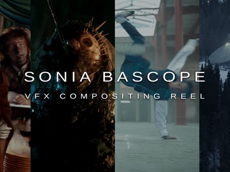 VFX Compositing Reel - Sonia Bascope