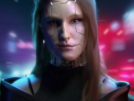 Cyberpunk digi-double