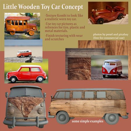 Little Wooden Kombi