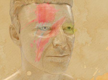 David Bowie - Head Sculpt