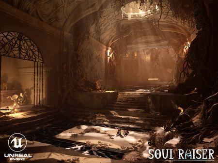 """""""Soul Raiser"""" - Senior thesis Environment Scene"""