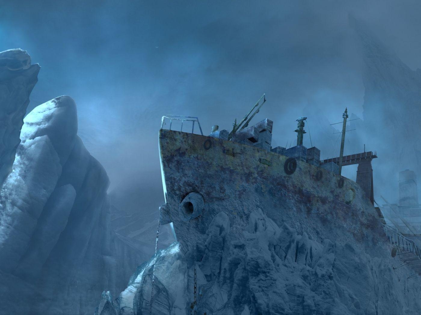 Frozen Boat CamMap