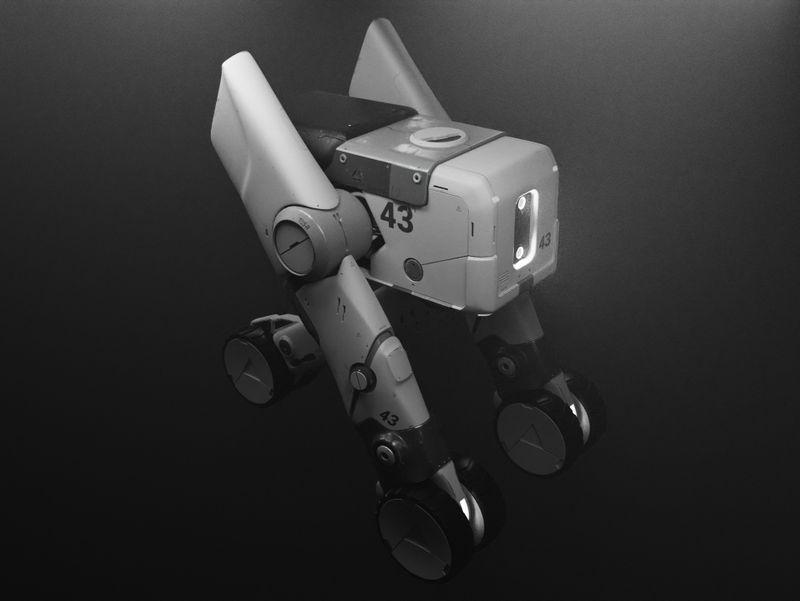 Sci-Fi Cargo Carrier Vehicle Concept