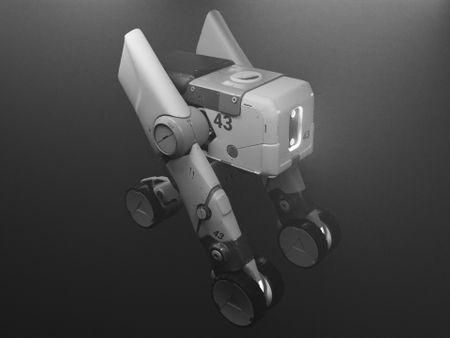 Sci-fi Cargo Carrier Vehicle