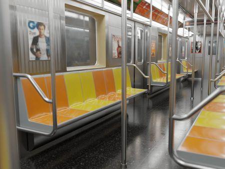 New York Subway 3D model