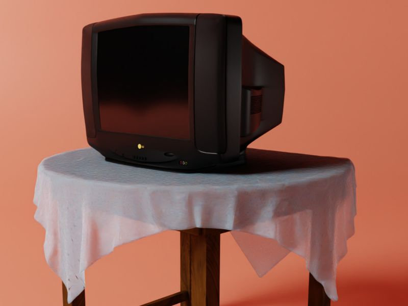 My old tv set-LG Golden Eye