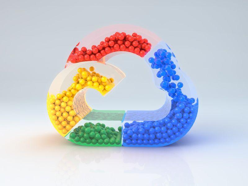 Google Cloud Logo Animation