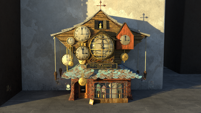 Clock Makers shop