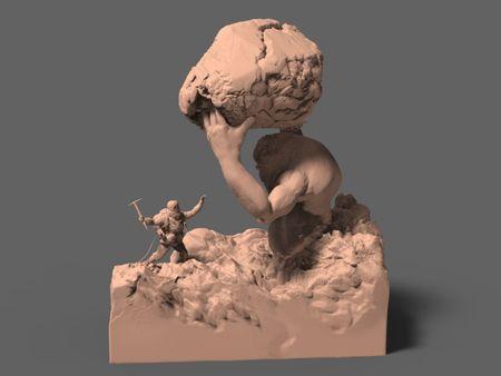 The Alpinist (speed sculpt)