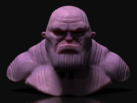Thanos (stylized quick sketch before watching Engame)