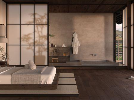 Japanese spa hotel