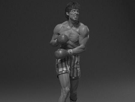 Rocky Balboa WIP