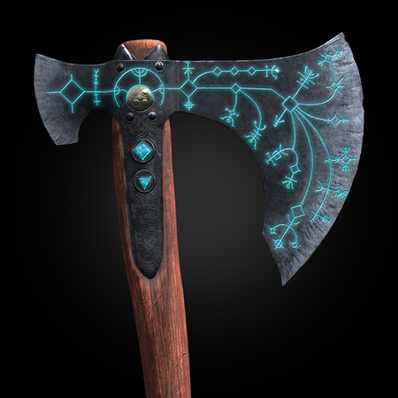The leviathan axe (real-time model)