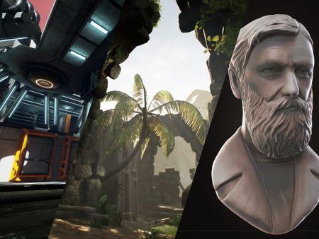 Stefanie De Thaey - Environments, game assets and character sculpts