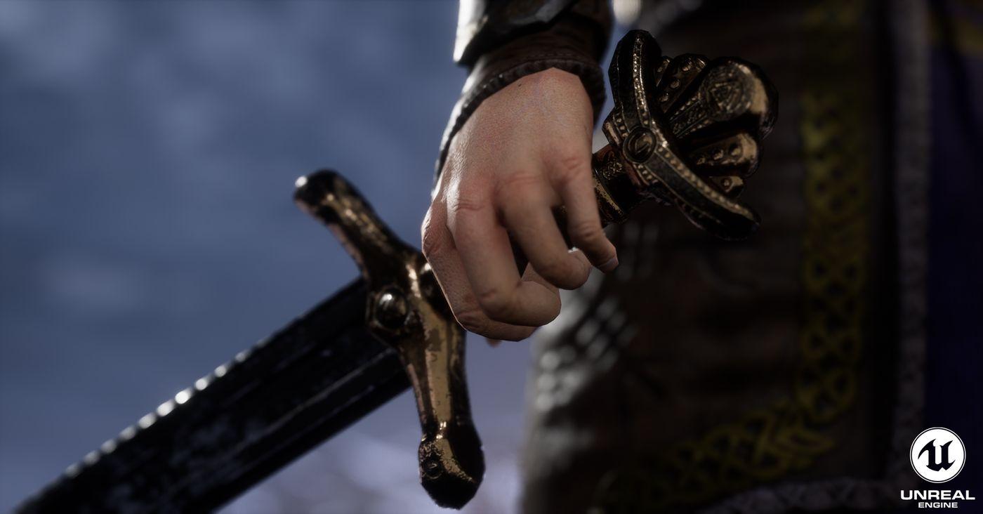 Hand Sword Close Up Steffen Salte Steffensh